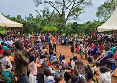 Impact Nations Children and Families Event in Africa with Jeff and Family