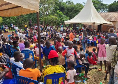 Impact Nations Children and Families Event in Africa with Jeff and Volunteers