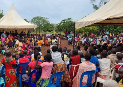 Impact Nations Children and Families Event in Nigerial Africa with Jeff and Volunteers