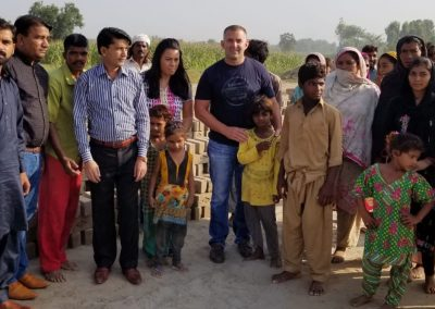 Impact Nations Evangelist Jeffrey Battles with Group of People