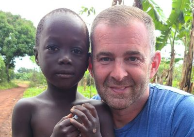 Impact Nations Global Jeff with African Boy