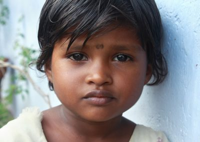 Impact Nations Poor Indian Girl Close Up