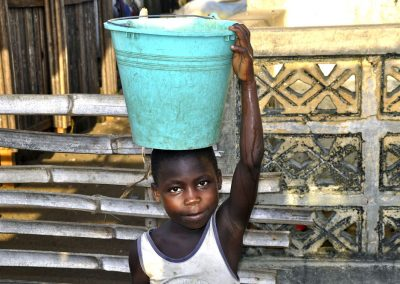 Impact Nations Providing Clean Drinking Water Boy Happy